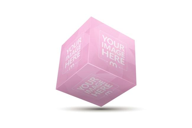 3D Cube Online Image Effect