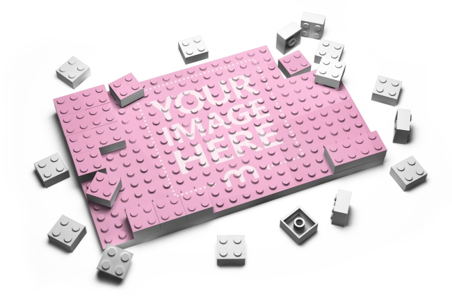 Image to 3D lego effect online