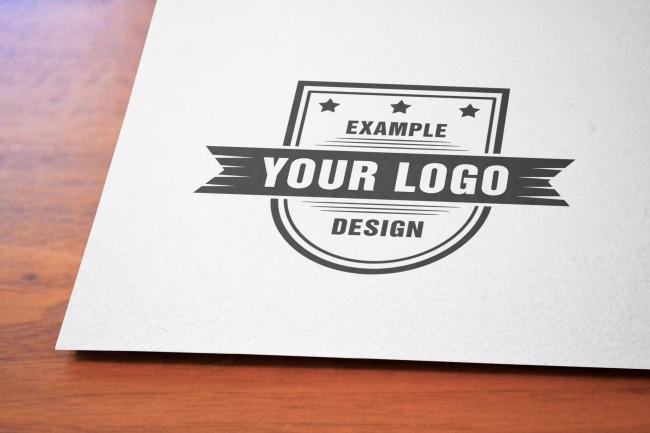 Paper on Wood Desk Close-up Online Mockup