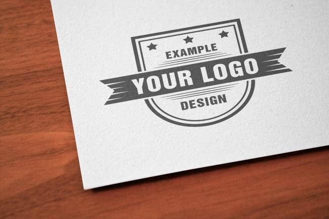 Logo Close-Up Online Mockup Template
