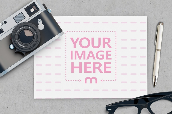 Photo Frame Online Template preview image