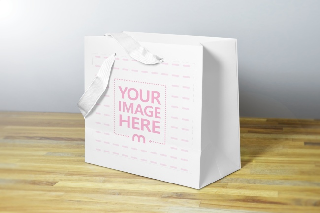Gift Bag Mockup Generator preview image