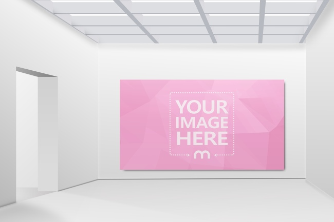 Image on Gallery Wall Template preview image