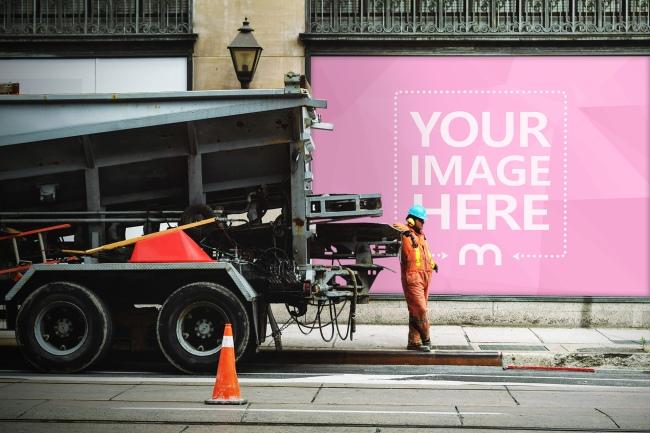 Urban Outdoors Advertisement Mockup Generator preview image