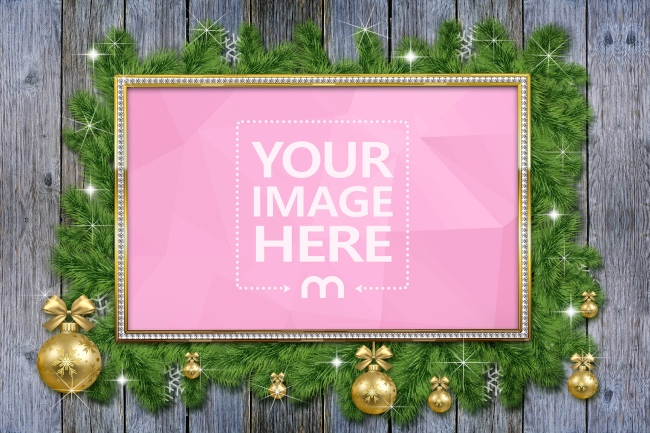 Christmas Frame Image Effect preview image