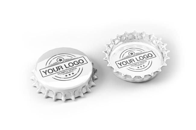 Beer Bottle Cap Mockup Generator preview image