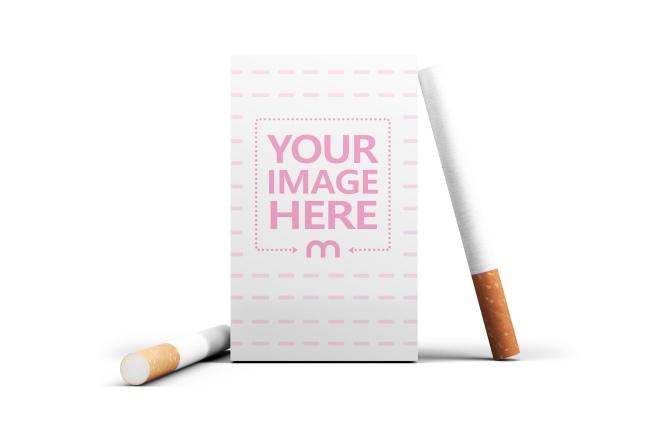 Cigarette Box Online Mockup Generator preview image