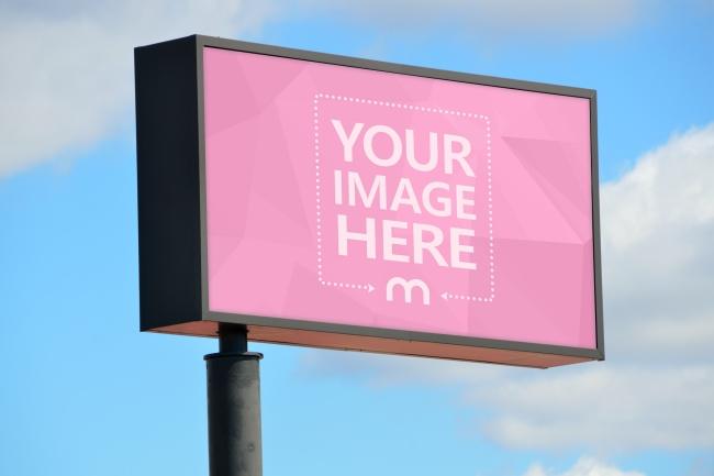 Large Billboard Advertisement Mockup preview image