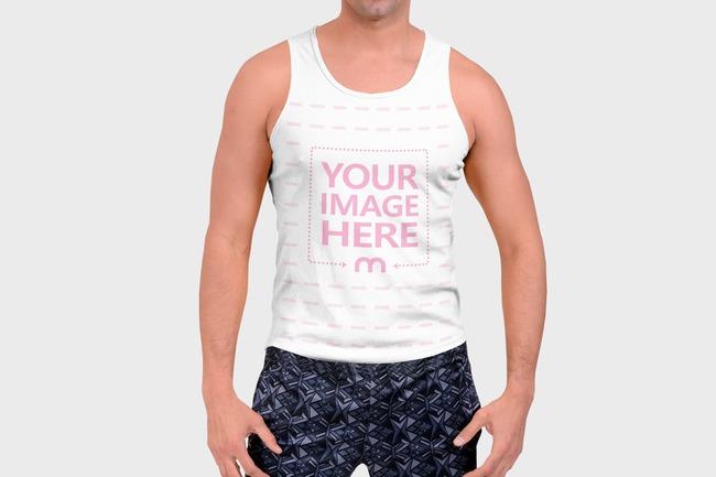 Men's Sport Shirt Mockup Generator preview image
