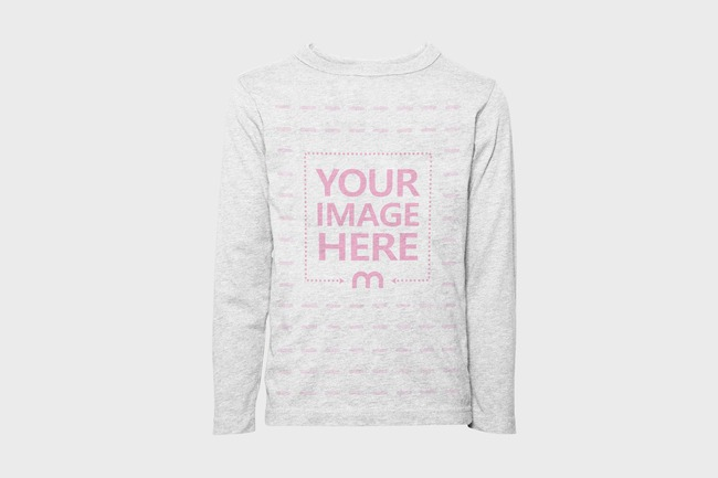 Long Sleeve Sweater Mockup Generator preview image