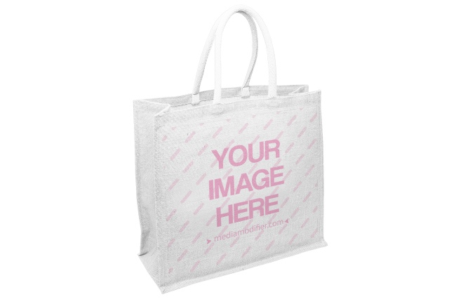 Fabric Shopping Bag Mockup Generator preview image