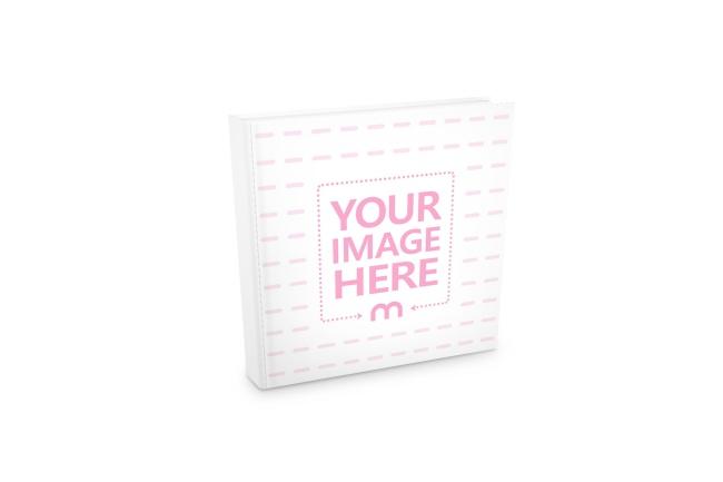 square book cover free online mockup generator