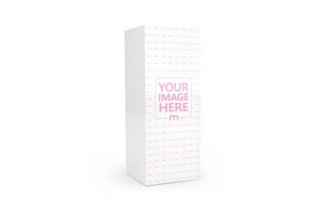 Tall Standing Product Box Mockup Generator preview image