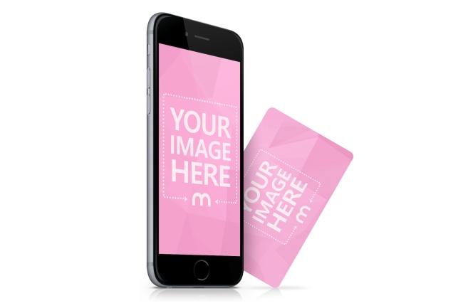 iPhone and Credit Card Mockup Generator