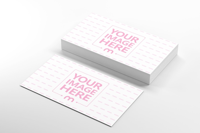 Free 3D Business Card Mockup Generator preview image