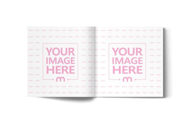 Open Square Book/Magazine Mockup Generator preview image