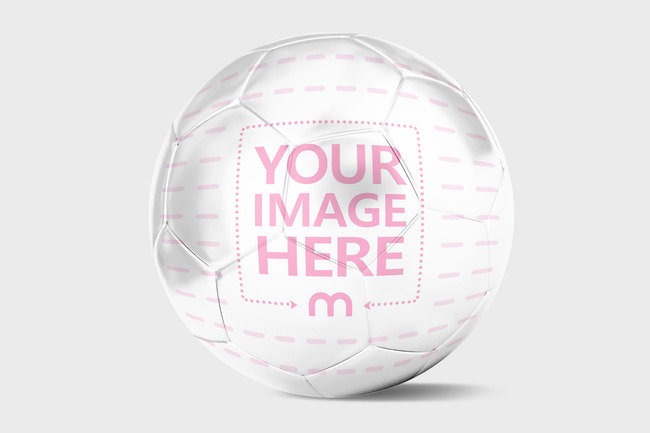 Custom Football Mockup Generator