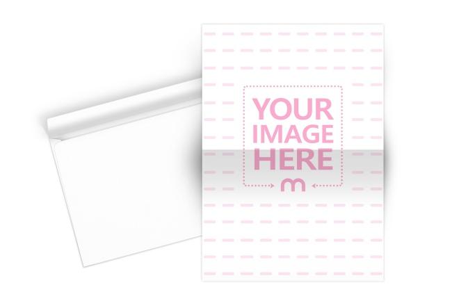 Folded Paper and Envelope Mockup Generator