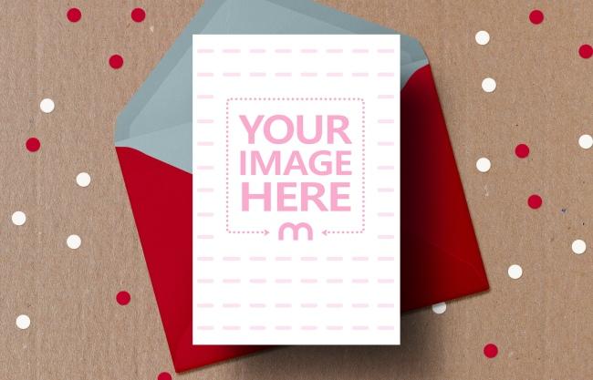 Christmas Card Mockup Generator preview image