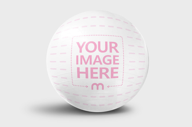 Isolated Exercise Ball Mockup Generator preview image