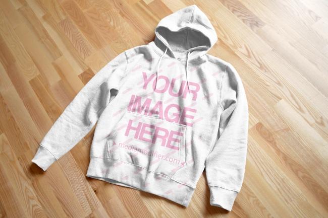 hoodie sweater front view online mockup generator template