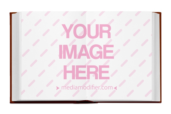 book inside pages online mockup generator