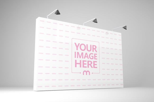Exhibiton Stand Background Mockup Generator preview image