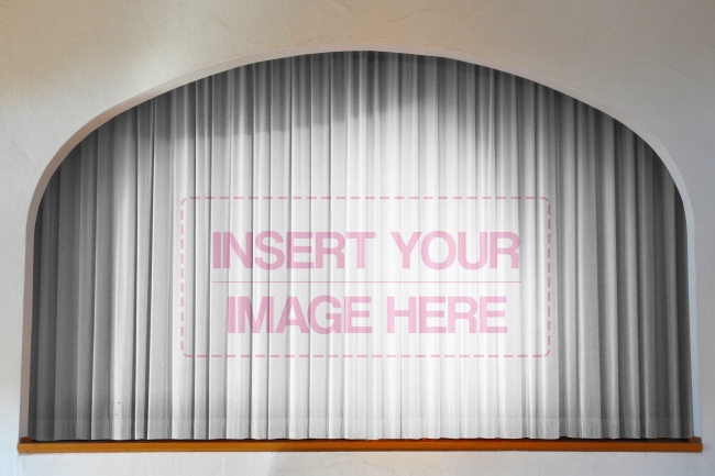 Stage Curtains Mockup Generator preview image