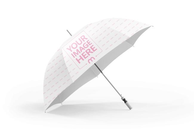3D Umbrella Design Mockup Generator preview image