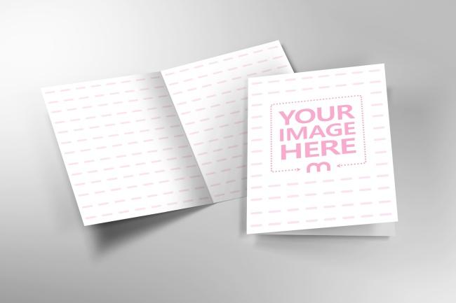 Half Fold Brochure Mockup Generator preview image