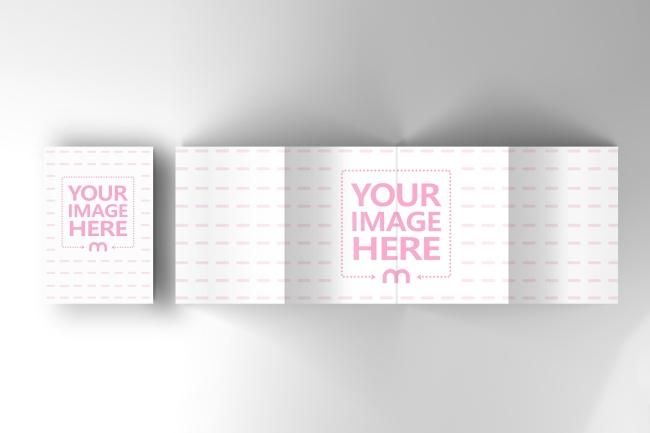 4 Panel Brochure Mockup Generator preview image