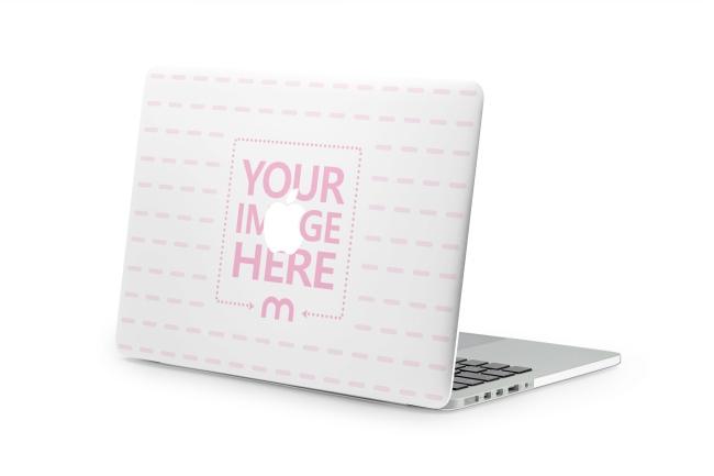 Macbook Laptop Case Mockup Generator preview image