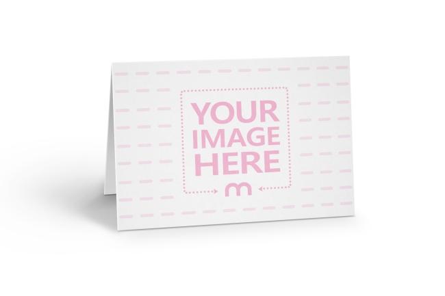 Landscape 5x7 Greeting Card Mockup Generator preview image