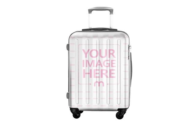 Custom Travel Suitcase Mockup Generator preview image
