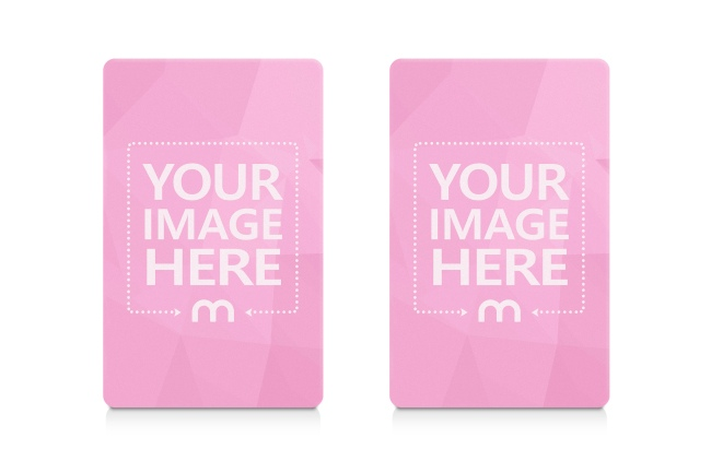 Portrait View Credit Cards Mockup Generator preview image