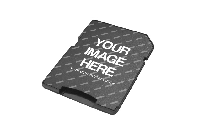 Micro SD Card Adapter Mockup Generator preview image