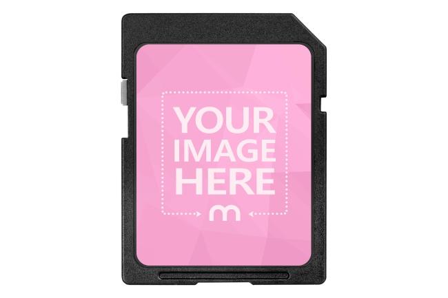 SD Card Label Mockup Generator