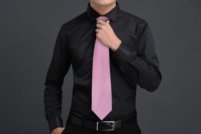 Custom Men's Tie Mockup Generator preview image