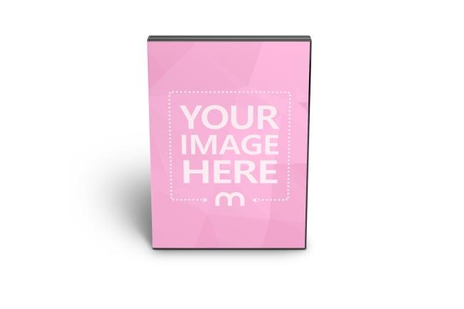 Front View DVD/CD Case Mockup Generator
