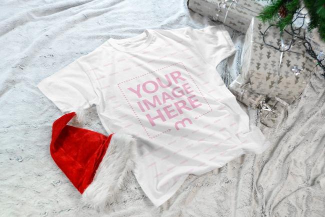 Christmas T-Shirt Mockup Generator preview image