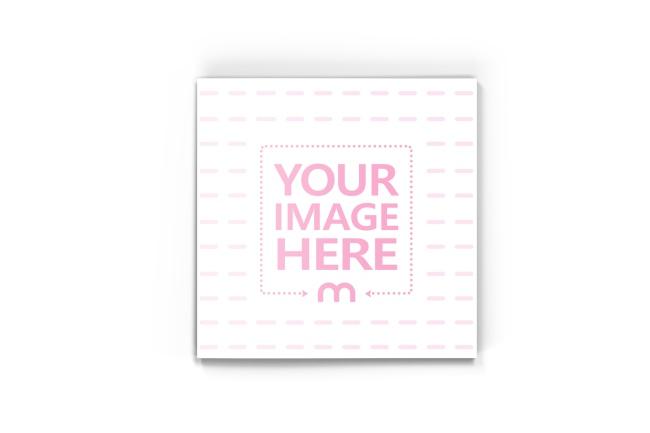 Square Brochure/Magazine Cover Mockup Generator preview image