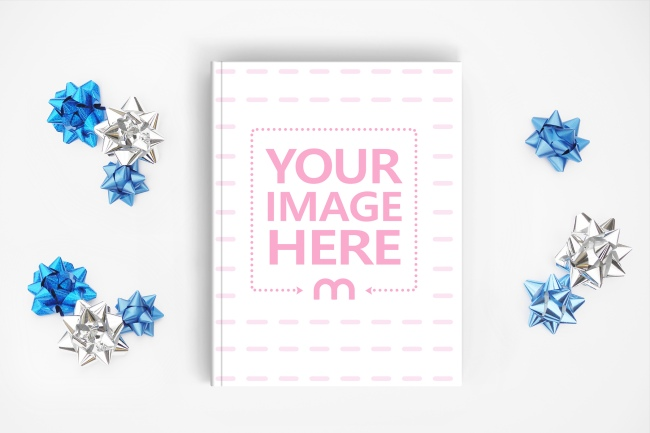 Gift Book Cover Mockup Generator preview image
