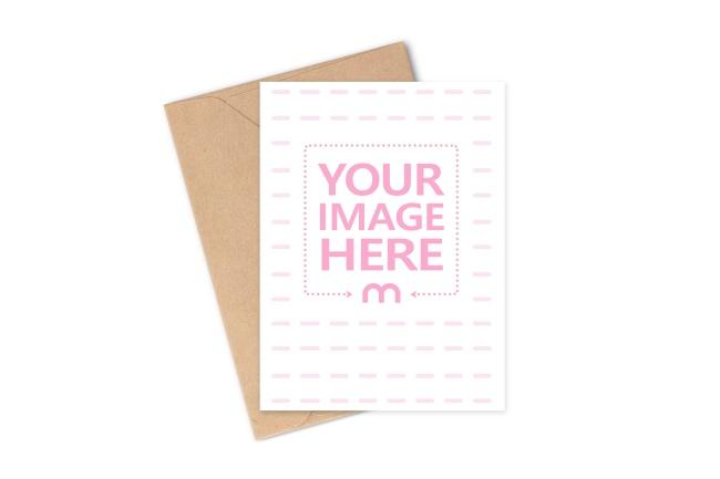 Free Postcard Mockup Generator