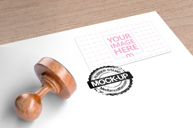 Logo Stamp and Address Label Mockup Generator