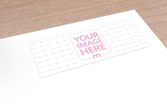 Address Label on Envelope Mockup Generator preview image