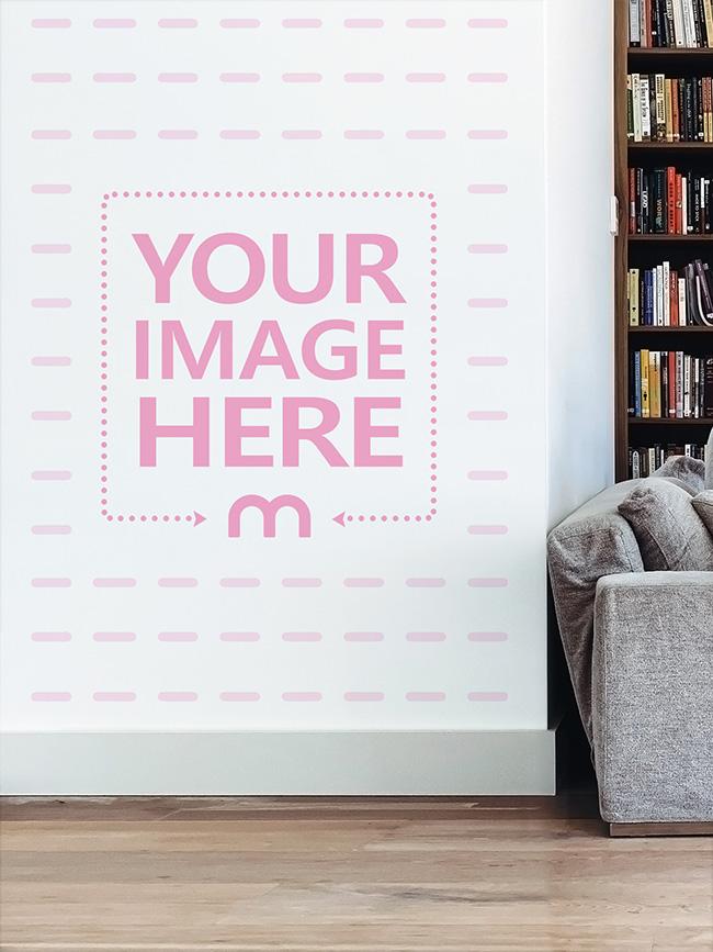 Home Wall Decoration Mockup Generator