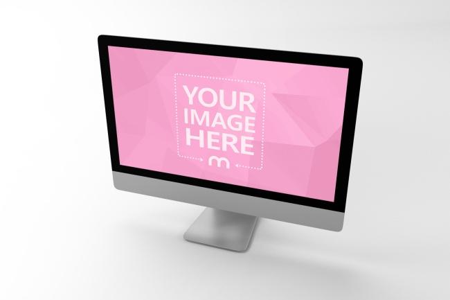 3D iMac Computer Mockup Generator preview image