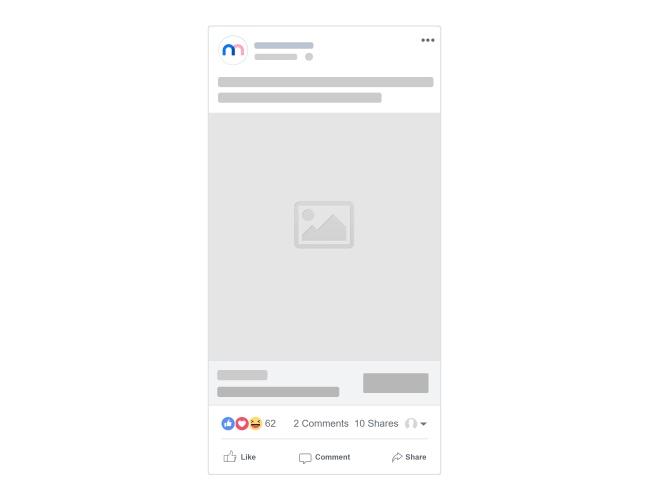 Facebook Mobile Post Mockup Generator Template preview image