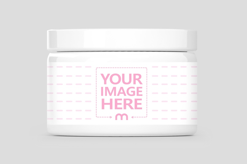 Cosmetics Cream Jar Mockup Generator