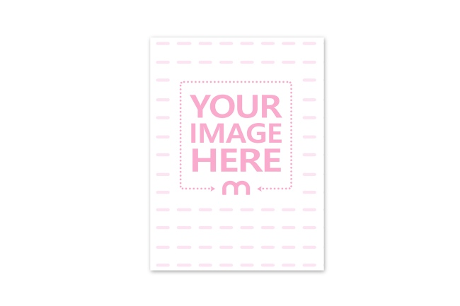 Portrait 6x9 Greeting Card Mockup Generator preview image